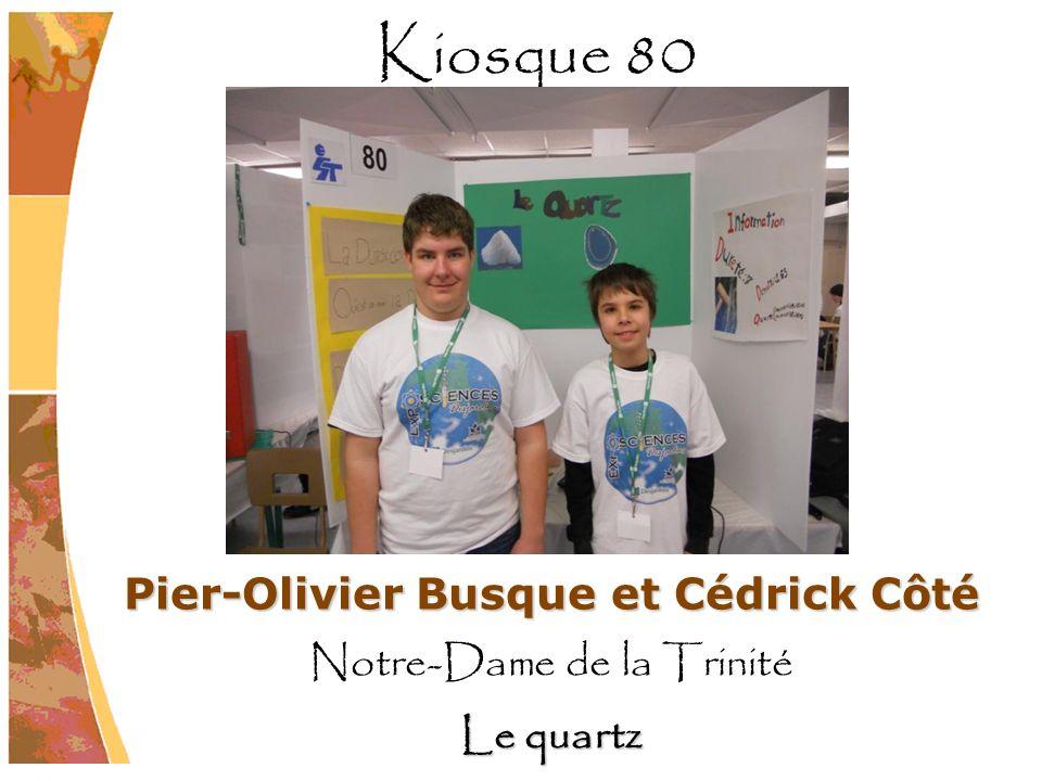 Pier-Olivier Busque et Cédrick Côté