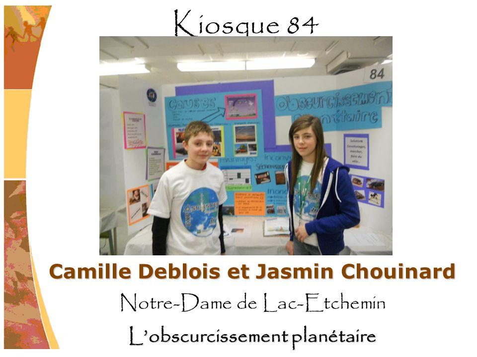 Camille Deblois et Jasmin Chouinard L'obscurcissement planétaire