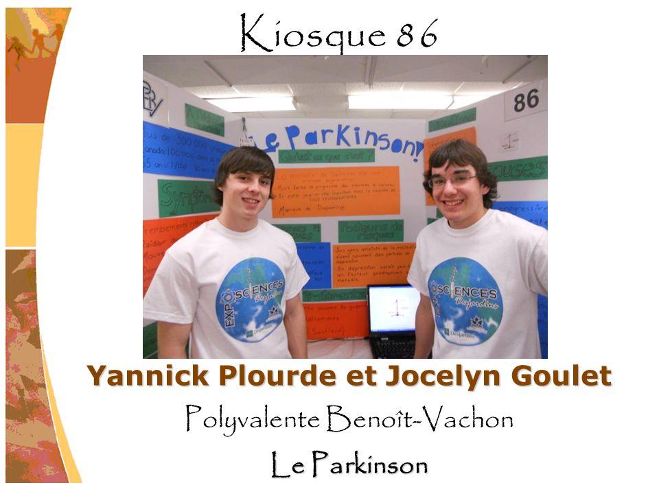 Yannick Plourde et Jocelyn Goulet