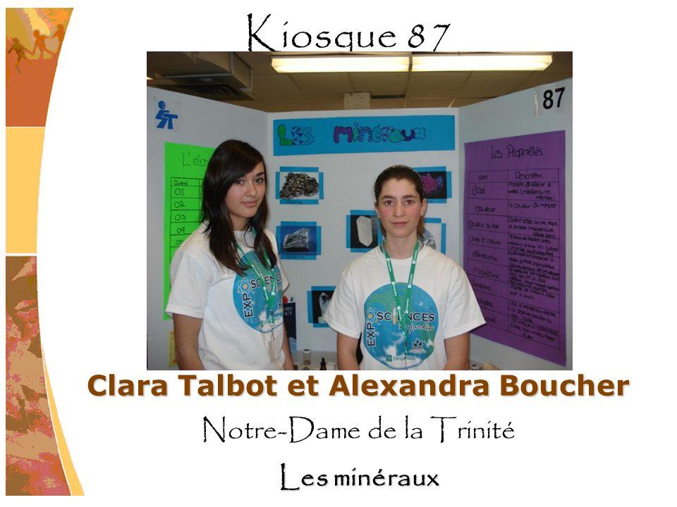 Clara Talbot et Alexandra Boucher