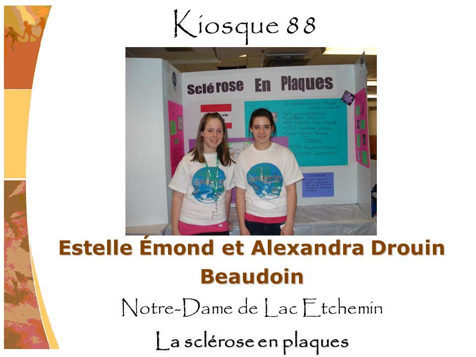 Estelle Émond et Alexandra Drouin Beaudoin