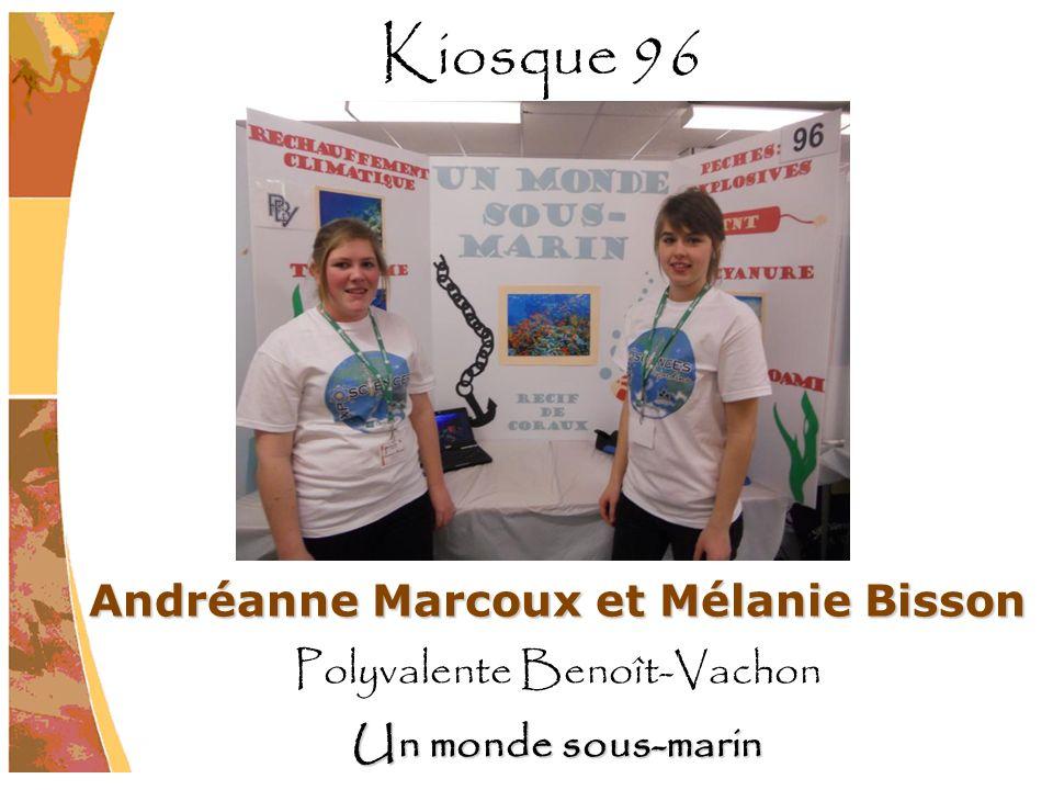 Andréanne Marcoux et Mélanie Bisson