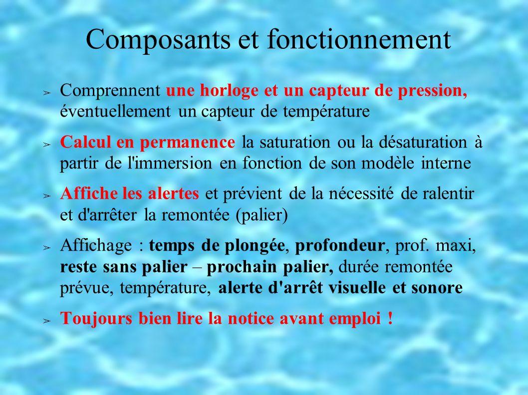 Composants et fonctionnement