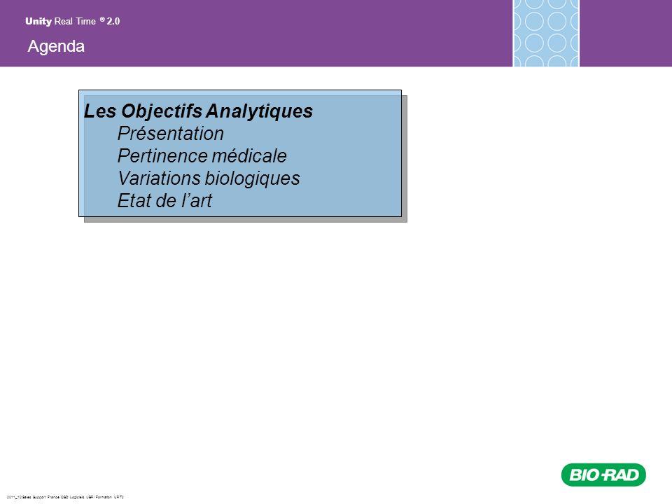Les Objectifs Analytiques Présentation Pertinence médicale
