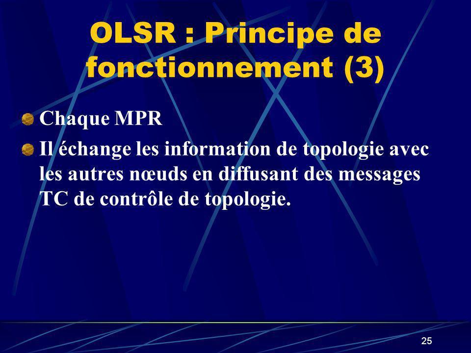 OLSR : Principe de fonctionnement (3)