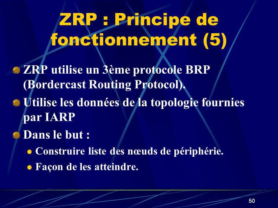 ZRP : Principe de fonctionnement (5)