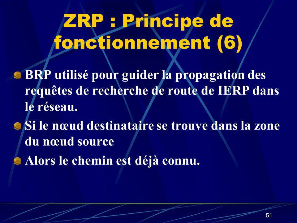 ZRP : Principe de fonctionnement (6)