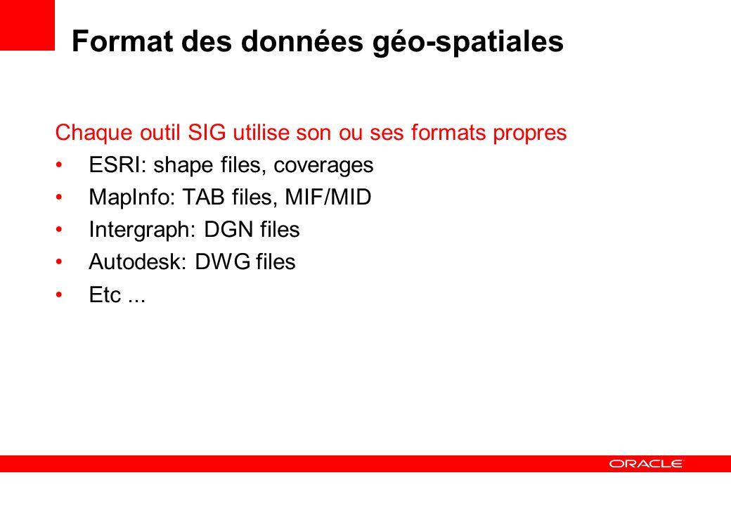 Format des données géo-spatiales