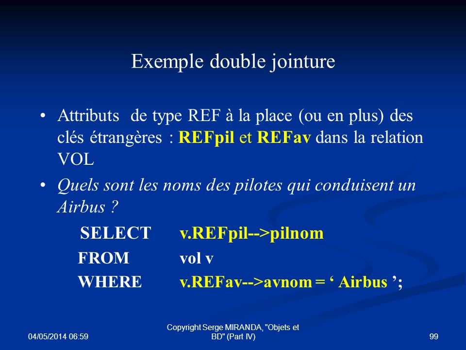 Exemple double jointure