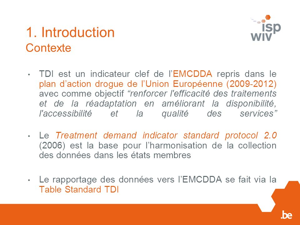1. Introduction Contexte