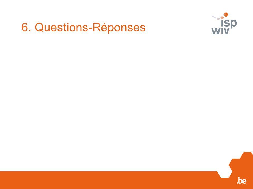 6. Questions-Réponses