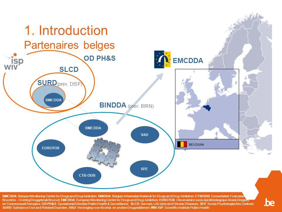 1. Introduction Partenaires belges