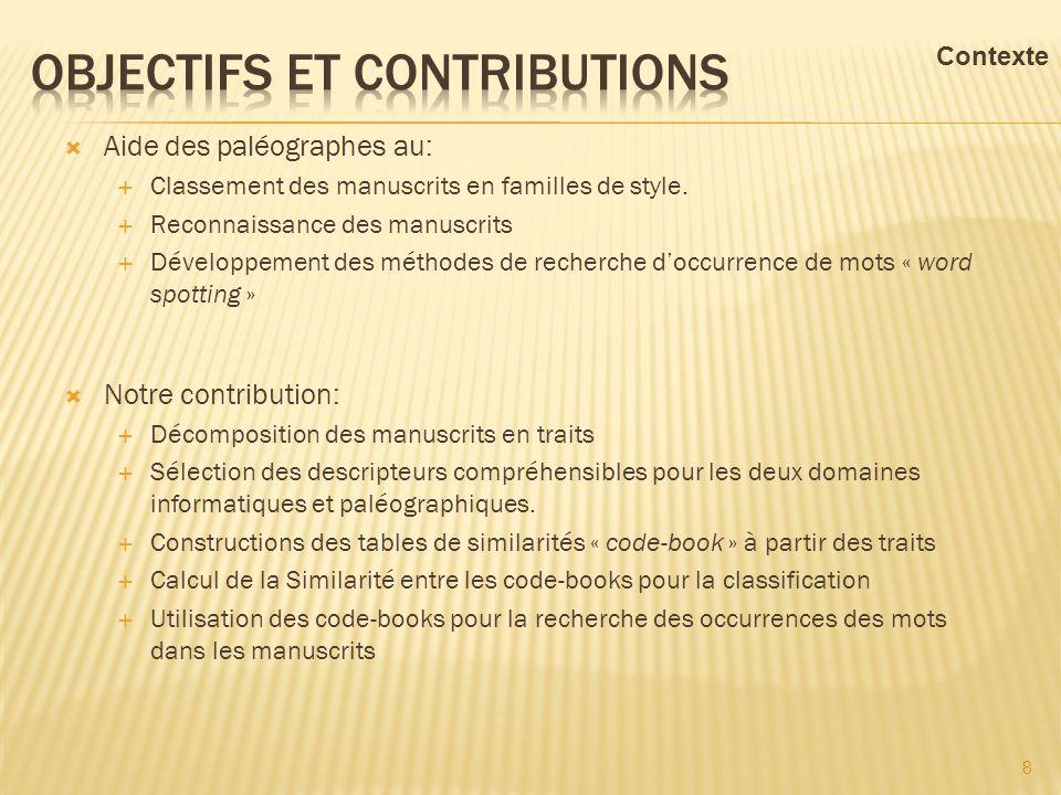 Objectifs et contributions