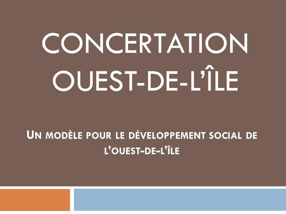 CONCERTATION OUEST-DE-L'ÎLE