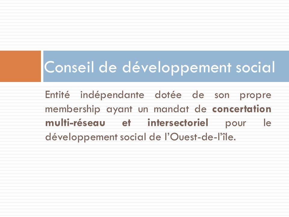 Conseil de développement social