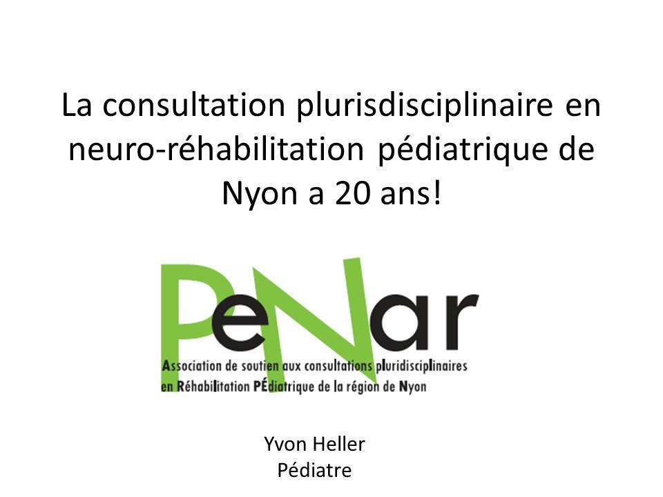 La consultation plurisdisciplinaire en neuro-réhabilitation pédiatrique de Nyon a 20 ans!