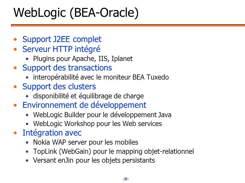 WebLogic (BEA-Oracle)