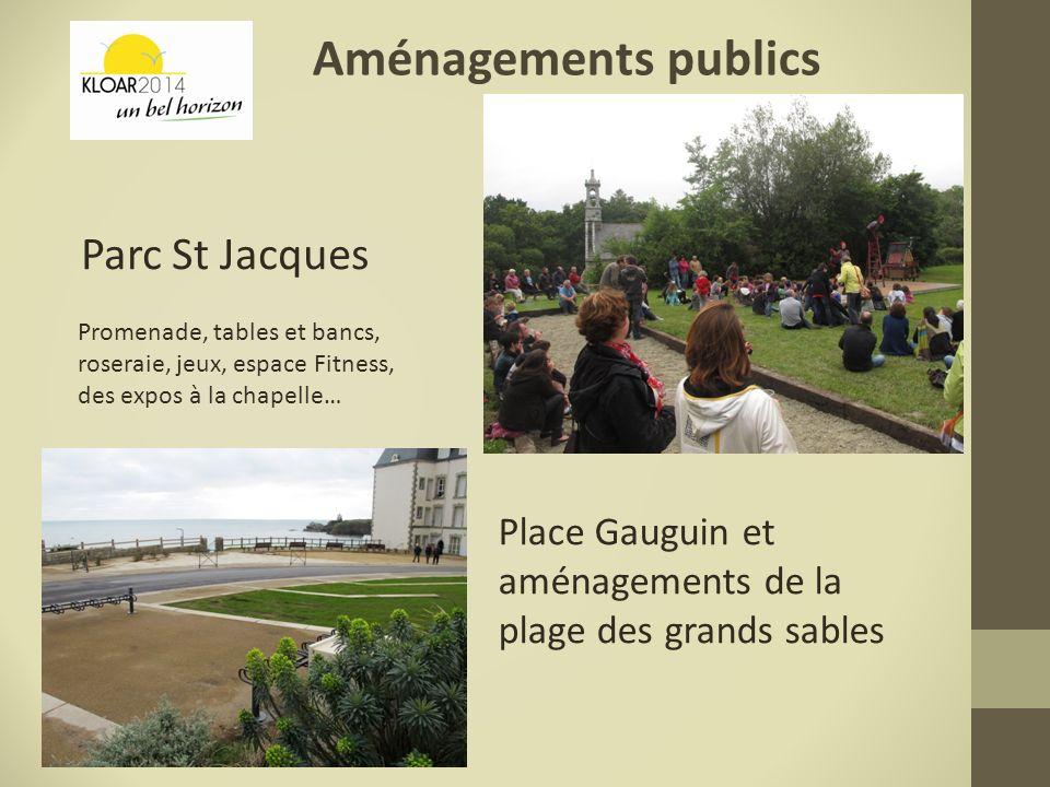 Aménagements publics Parc St Jacques