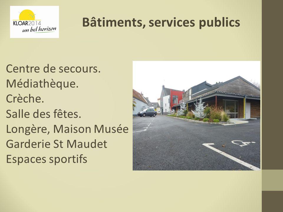 Bâtiments, services publics