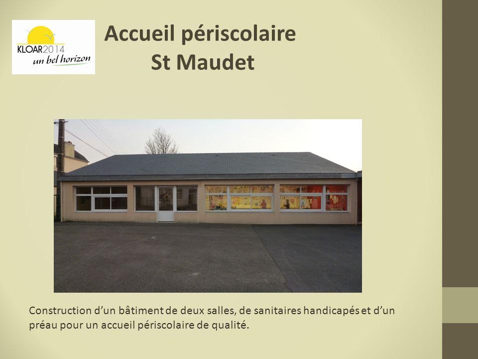 Accueil périscolaire St Maudet