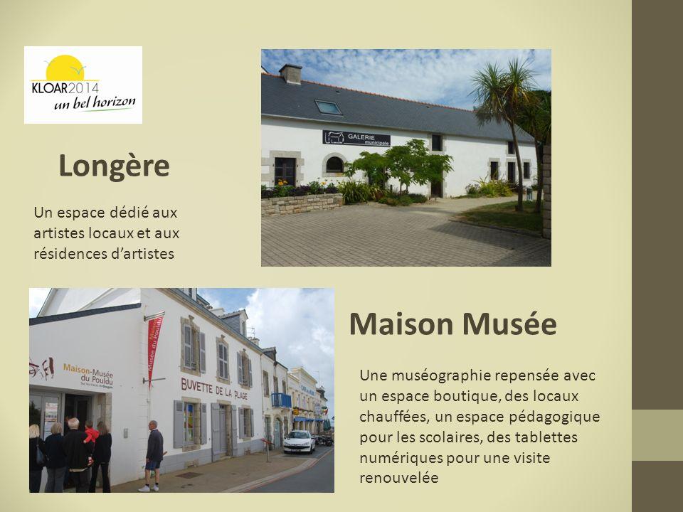 Longère Un espace dédié aux artistes locaux et aux résidences d'artistes. Maison Musée.