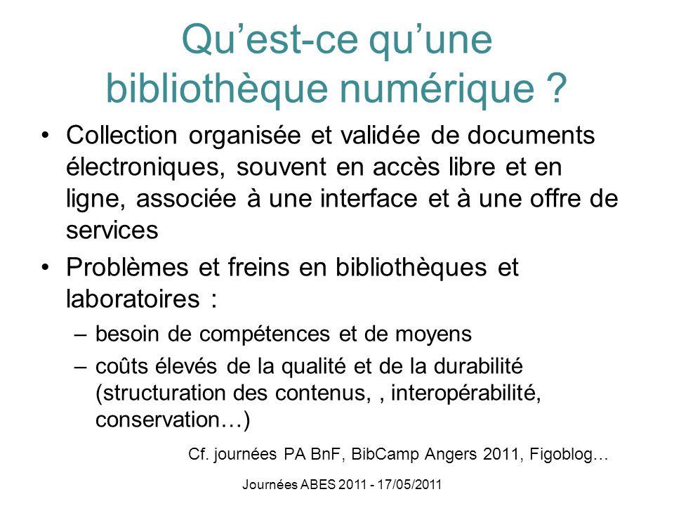 Qu'est-ce qu'une bibliothèque numérique