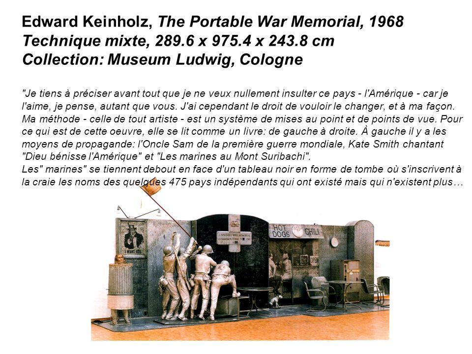 Edward Keinholz, The Portable War Memorial, 1968 Technique mixte, 289