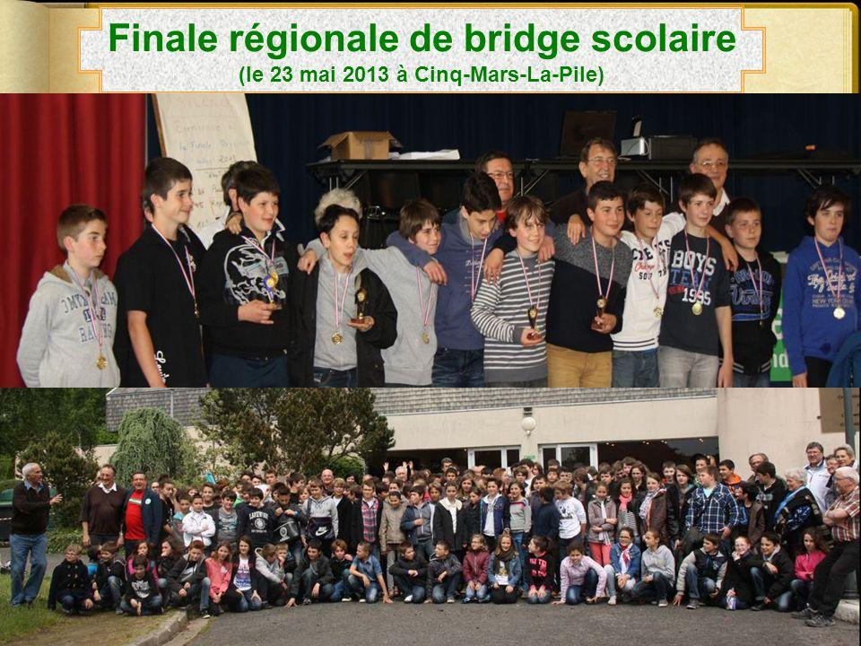 Finale régionale de bridge scolaire