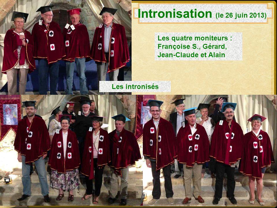 Intronisation (le 26 juin 2013)