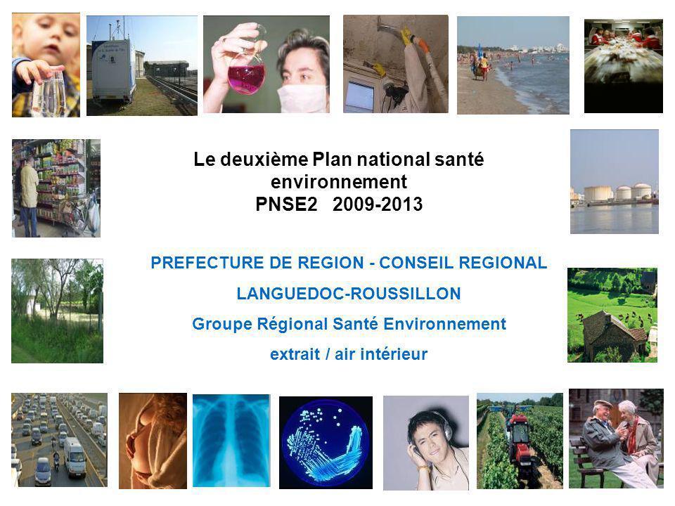 Le deuxième Plan national santé environnement PNSE2 2009-2013