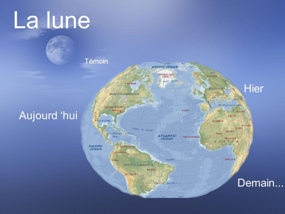 La lune Témoin Hier Aujourd 'hui Demain...