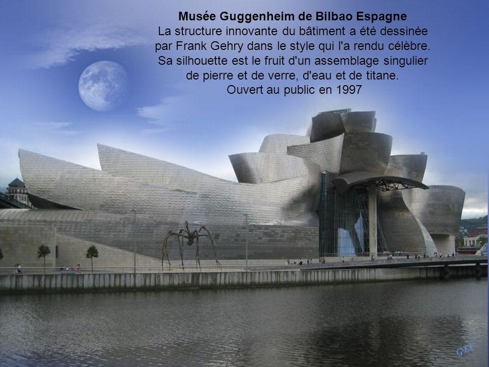 Musée Guggenheim de Bilbao Espagne