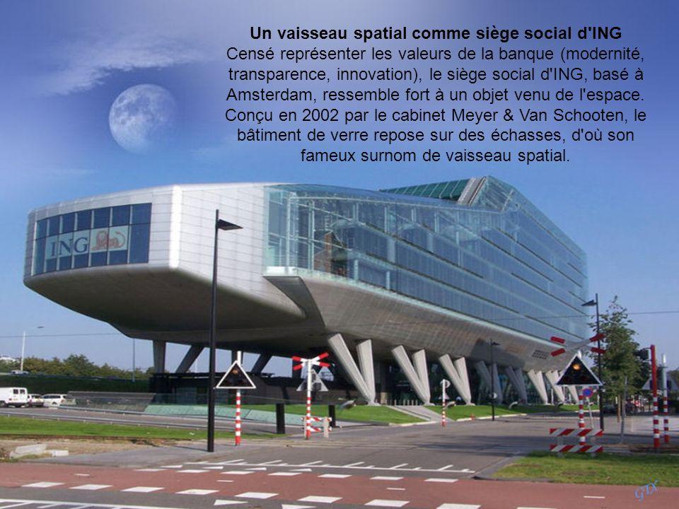 Un vaisseau spatial comme siège social d ING