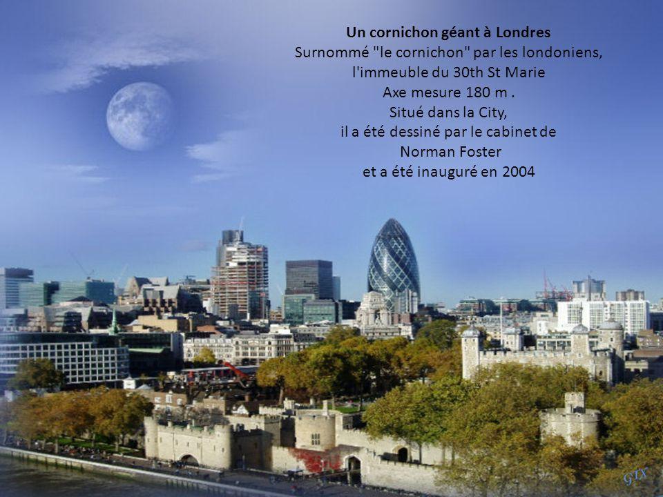 Un cornichon géant à Londres