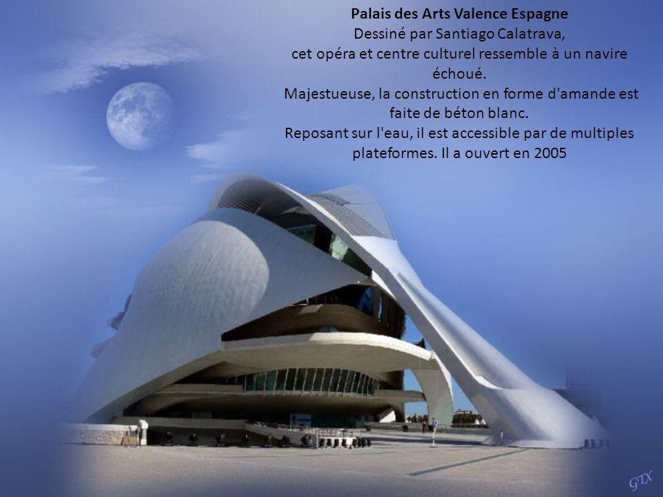 Palais des Arts Valence Espagne