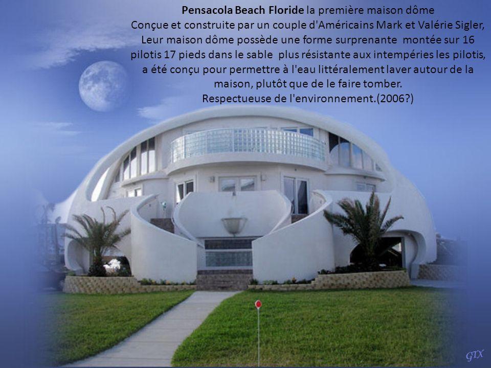 Pensacola Beach Floride la première maison dôme