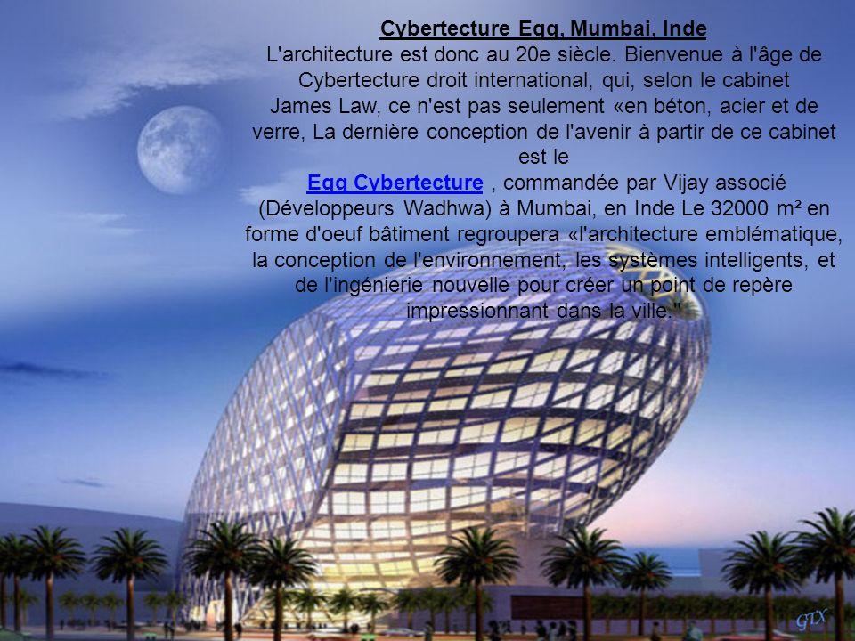 Cybertecture Egg, Mumbai, Inde