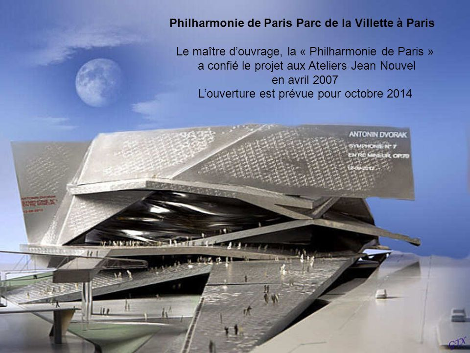 Philharmonie de Paris Parc de la Villette à Paris