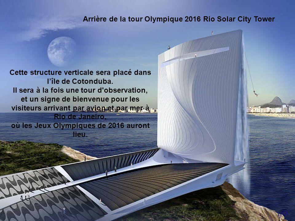 Cette structure verticale sera placé dans l'île de Cotonduba.
