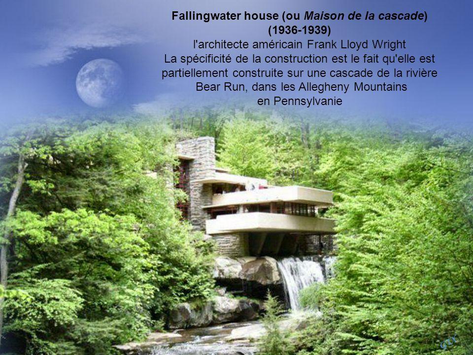 Fallingwater house (ou Maison de la cascade)