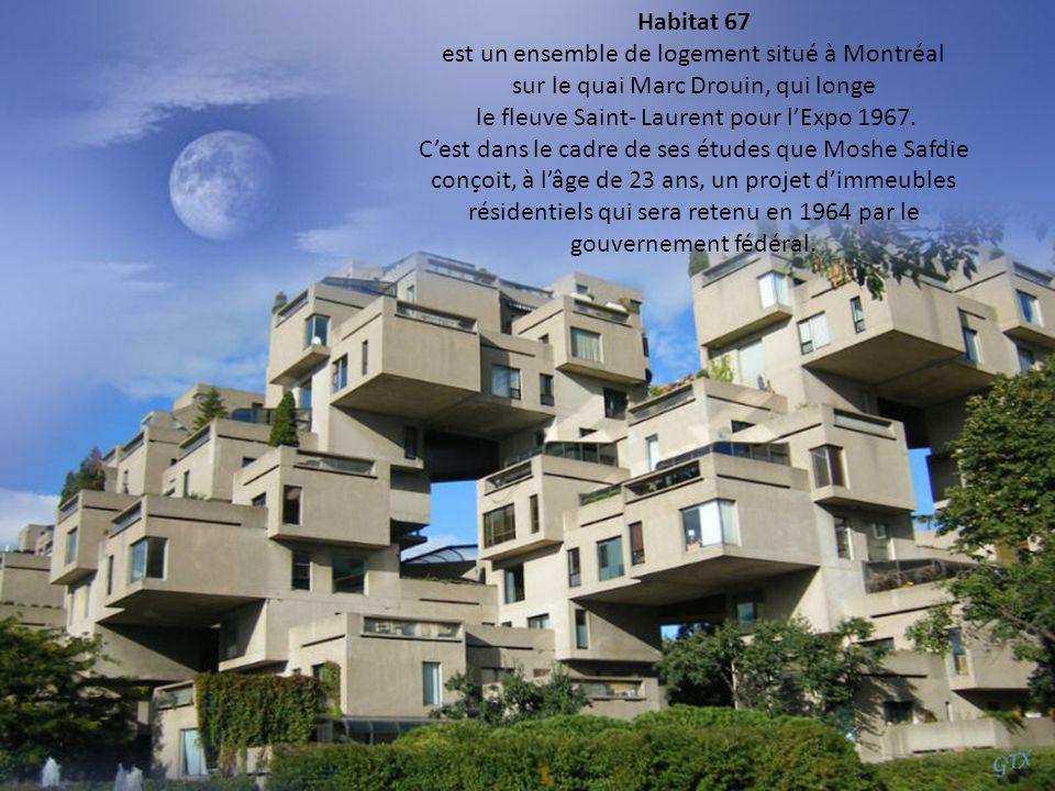 est un ensemble de logement situé à Montréal