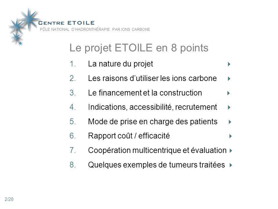 Le projet ETOILE en 8 points