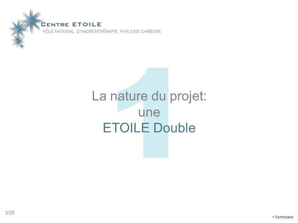 La nature du projet: une ETOILE Double