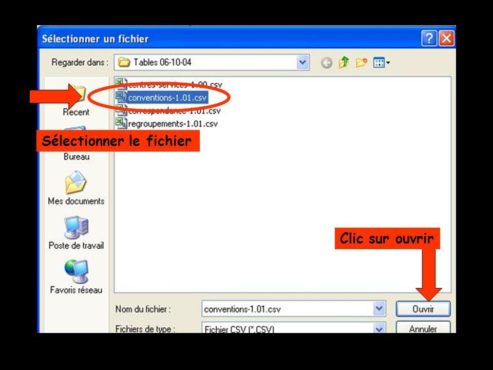 Sélectionner le fichier