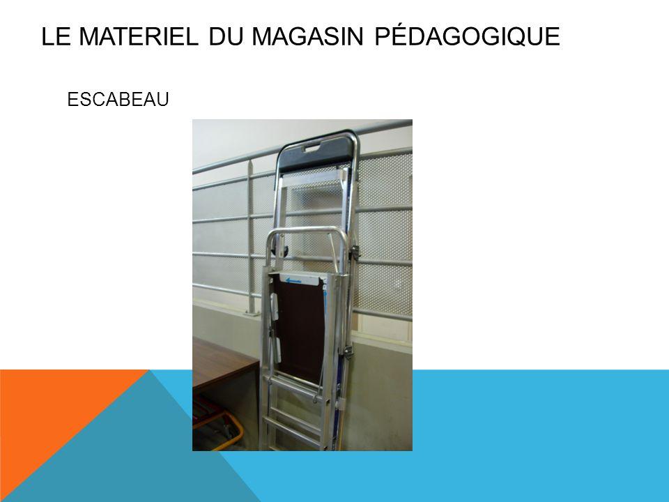 LE MATERIEL DU magasin pédagogique
