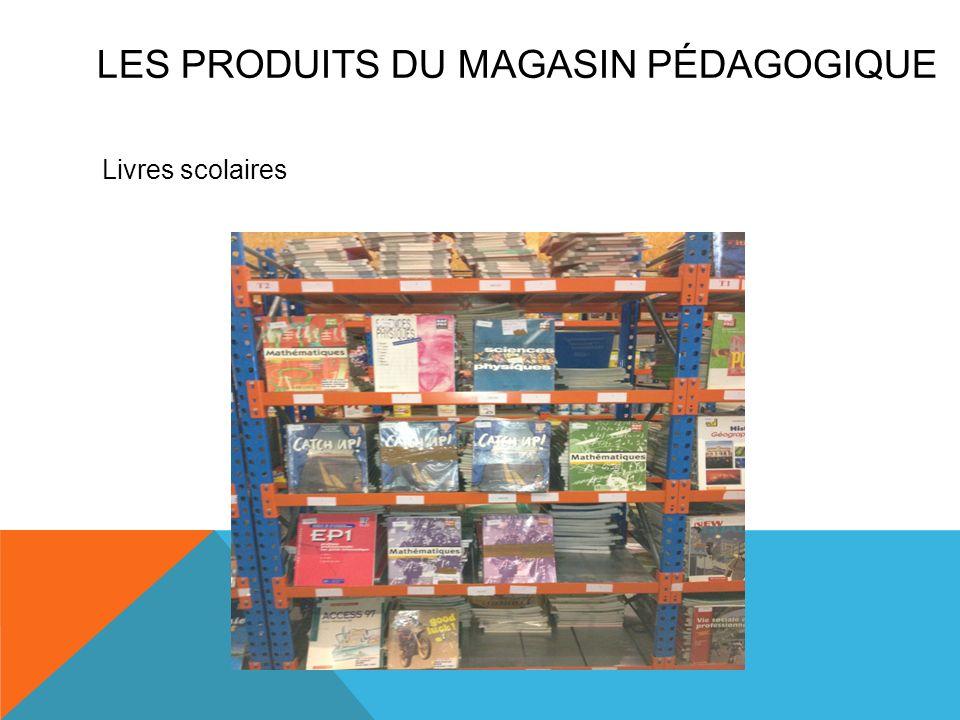 Les produits du magasin pédagogique
