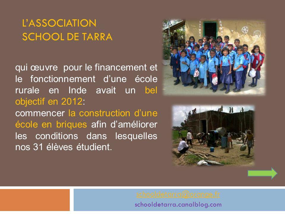 L'ASSOCIATION SCHOOL DE TARRA