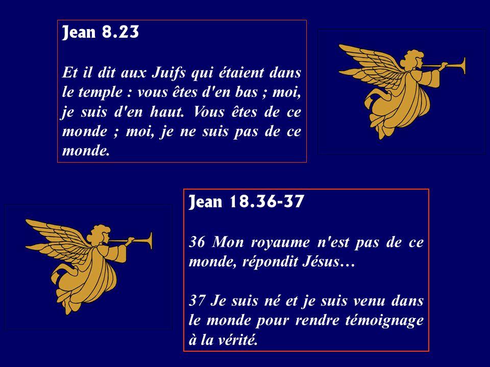 Jean 8.23