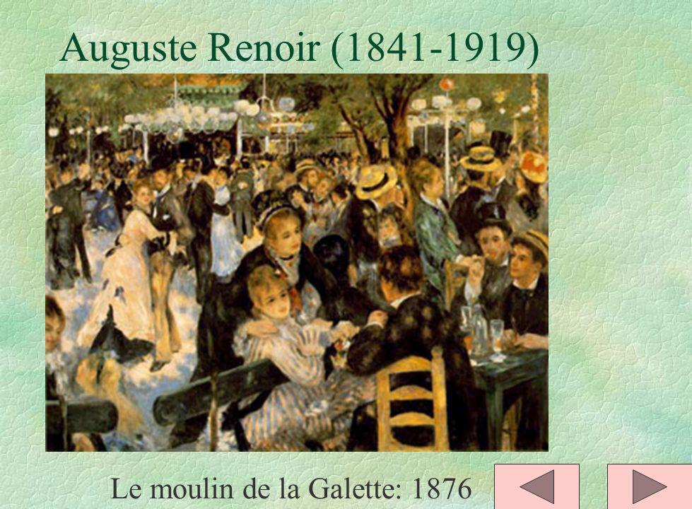 Le moulin de la Galette: 1876