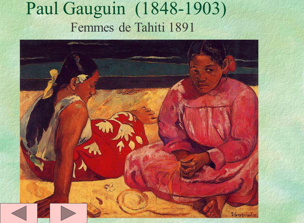 Paul Gauguin (1848-1903) Femmes de Tahiti 1891